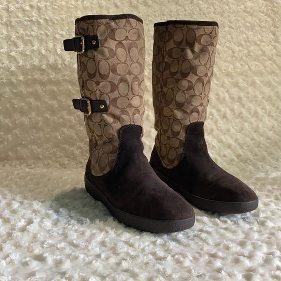 Tina Coach boots